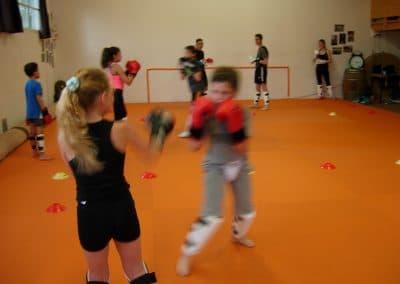 AMMB :  Cours enfants 6/15 ans de Savate boxe française et Grappling