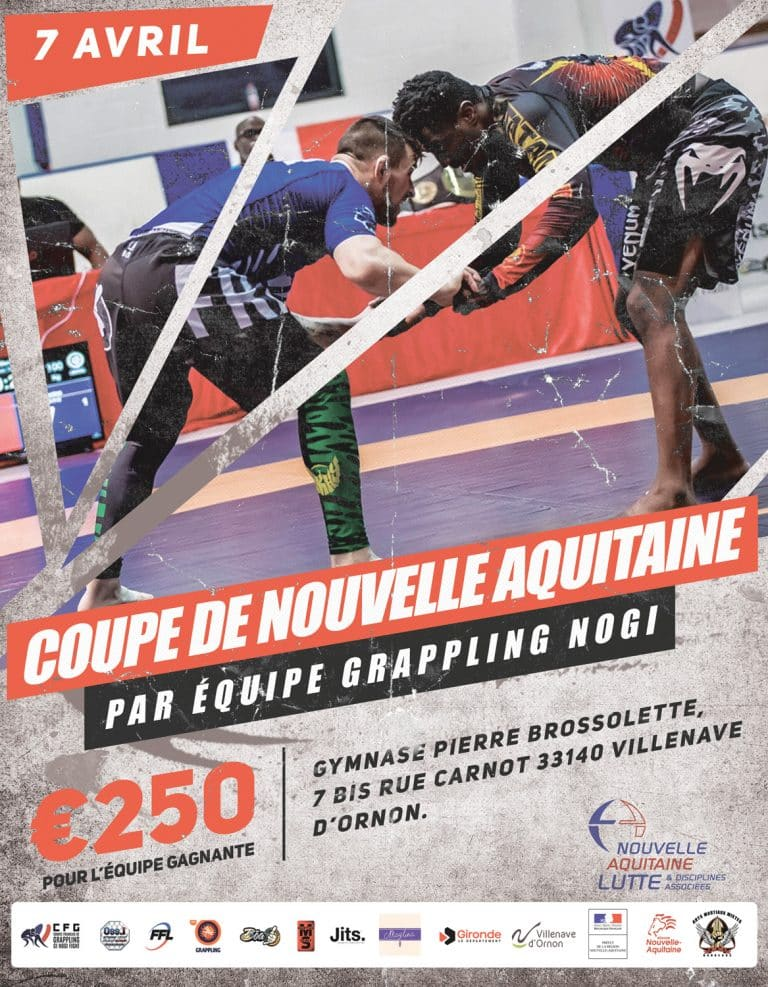 Open de Grappling par équipe de Nouvelle Aquitaine
